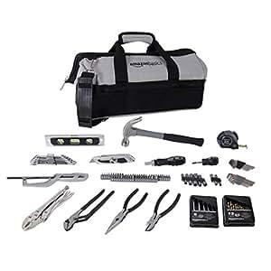 AmazonBasics 115-Piece Home Repair Kit