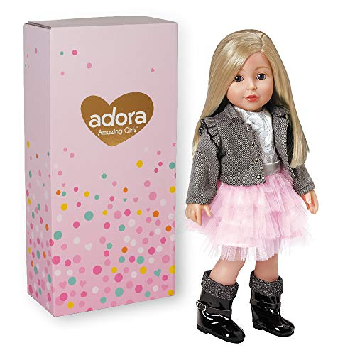 Adora Amazing Girls 18-inch Doll, ''Harper'' (Amazon Exclusive)