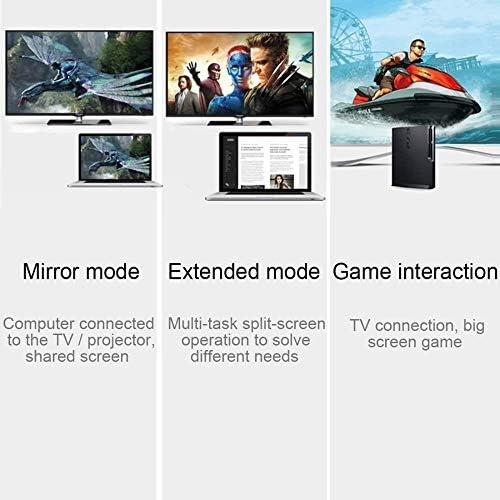 GCX HDIM Câble Version 2.0 Prend en Charge 3D 4K * 2K Résolution HDMI Flat TV Ordinateur boîtier décodeur HD câble Raffermir (Size : 10m)