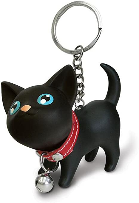 Amazon.com: JOYJULY Llavero de gato para llaves de coche ...