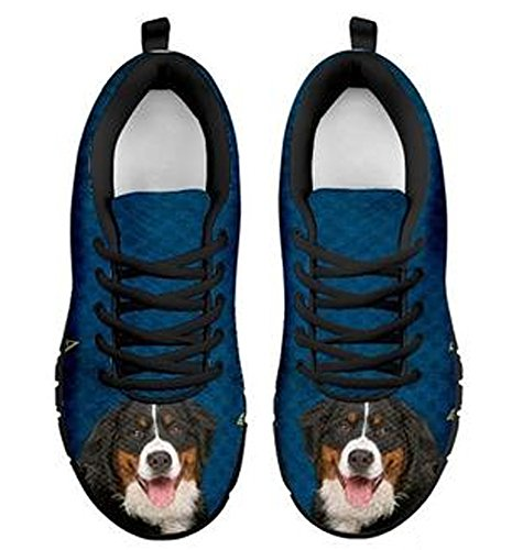 Bernese Amazing Men's Brand Sneakers 11 Casual Black Print Mountain Dog RxCwvwq