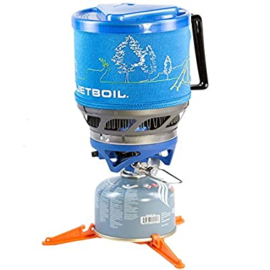 Jetboil MiniMo Personal Cooking System - Sapphire w/ Line Art