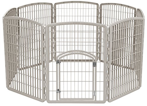 IRIS Exercise 8 Panel Playpen Chrome