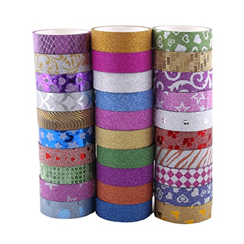 washi-tape-set-of-30-rolls-all-girls-favorite-great-for-arts-and-crafts-diy-scrapbook-decorative-cre