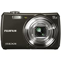 Fujifilm FinePix F200EXR 12MP Super CCD Digital Camera with 5x Wide Angle Dual Image Stabilized Optical Zoom Overview Review Image