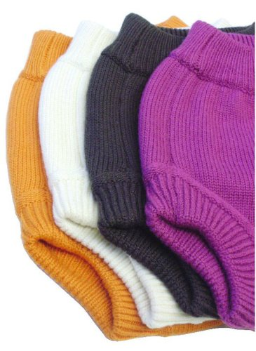 Image: Sustainablebabyish Knit Wool Diaper Cover | �ko-tex certified wool yarns and are double-layer knit | Soft, stretchy, durable, super absorbent