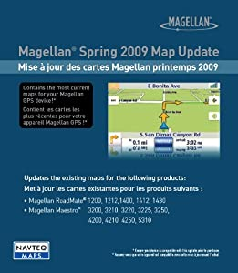 Magellan 2009 One Time U S Map Update For Magellan Gps Navigators Sd Card