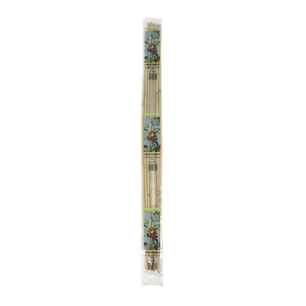 Verdemax 6654 8-10 mm Diameter 106 cm Height Bamboo Support Stake Bunch 5-Piece