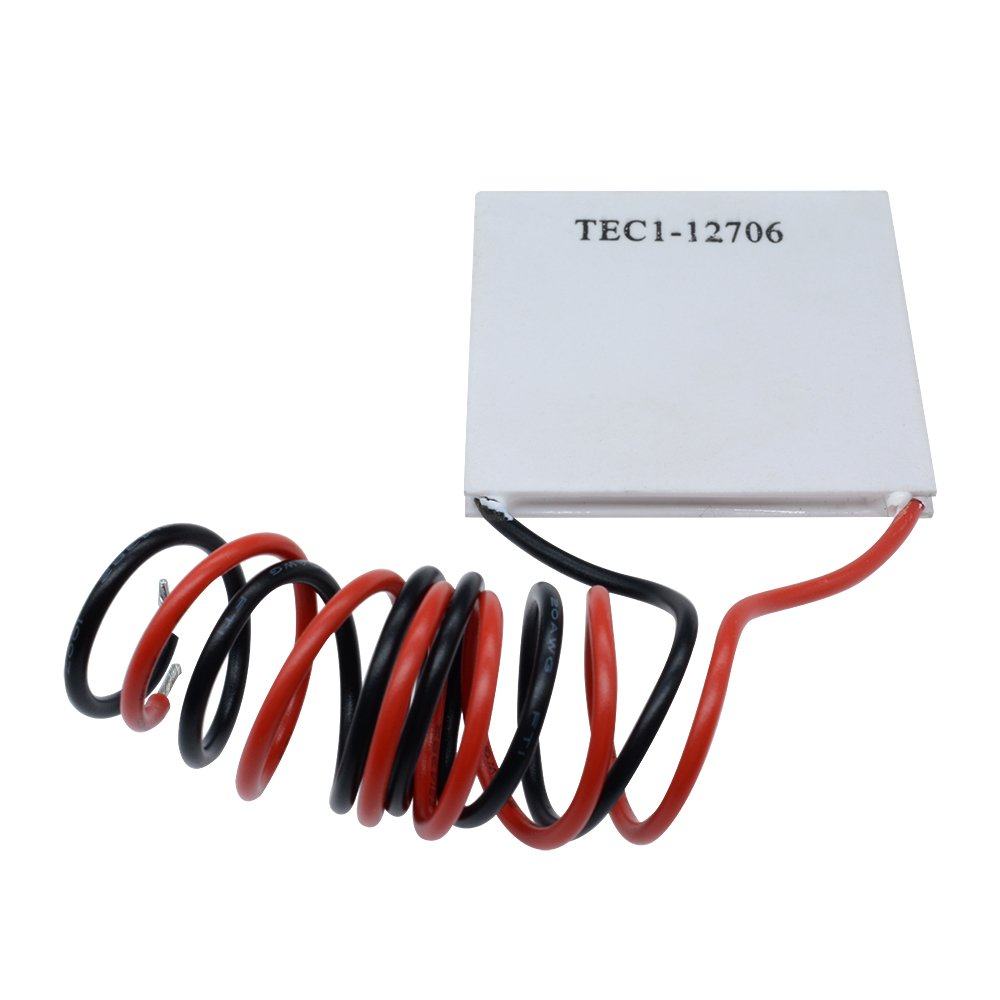 Aideepen 5pcs TEC1-12706 12V 6A Heatsink Thermoelectric Cooler Cooling Peltier Plate Module 40x40MM by Aideepen (Image #7)
