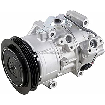 AC Compressor & A/C Clutch For Toyota Yaris 2006 2007 2008 2009 2010 2011 - BuyAutoParts 60-02381NA New