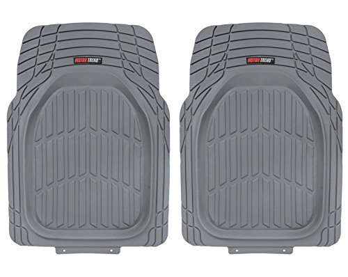 Motor Trend FlexTough Contour Liners (2PC Gray)