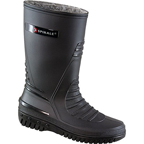 Terrax 70317-36-1000 Spiral Bottes dhiver Taille 36 Noir