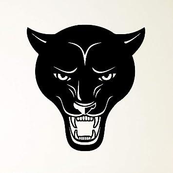 Cabeza de pantera Animal Predator Evil Grin calcomanías decoración ...