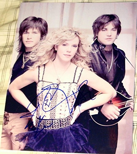 The Band Perry Signed Autograph Full