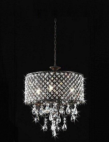 DXZMBDM® MAX:60W Traditionell-Klassisch Kristall Chrom Metall Kronleuchter Schlafzimmer / Esszimmer / Studierzimmer/Büro / Korridor , 220-240v