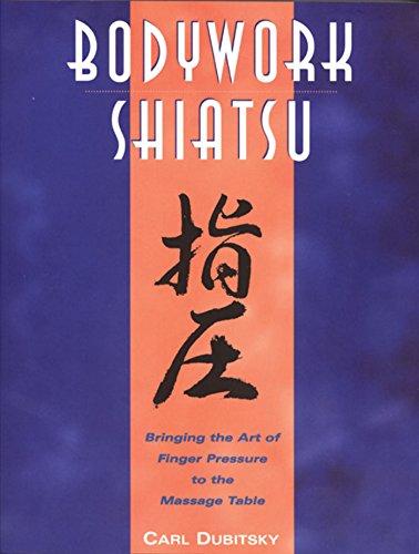 bodywork shiatsu bringing art finger pressure massage table