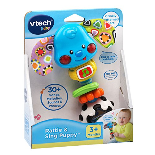 51a59bfaW9L - VTech Baby Rattle and Sing Puppy