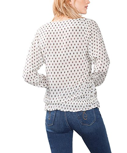ESPRIT, Blusa para Mujer Multicolor (off White 110)