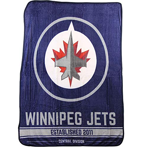 - The Northwest Company NHL Breakaway Super Soft Plush Throw Blanket (Winnipeg Jets)