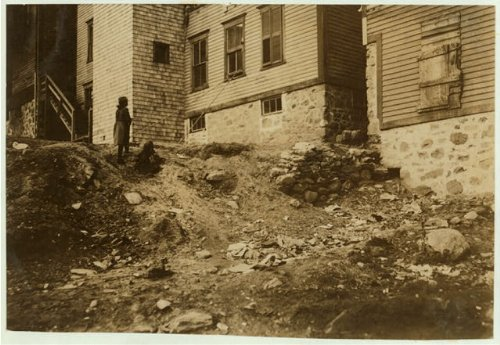 HistoricalFindings Photo: Housing Conditions,Woonsocket,Rhode Island,Labor Housing,Lewis Wickes Hine