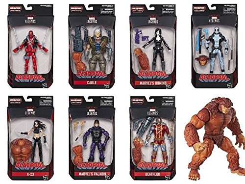 Deadpool Legends 6 Inch Action Figure Assortment of 8