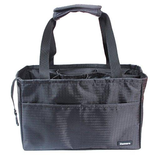 sert Organizer (Sewn to The Bottom), Bag in Bag Handbag Purse Tote Bag ()