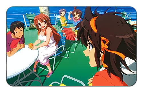 (Disappearance of Haruhi Suzumiya Anime Stylish Playmat Mousepad (24 x 14) inches [MP]Disappearance of Haruhi-2)