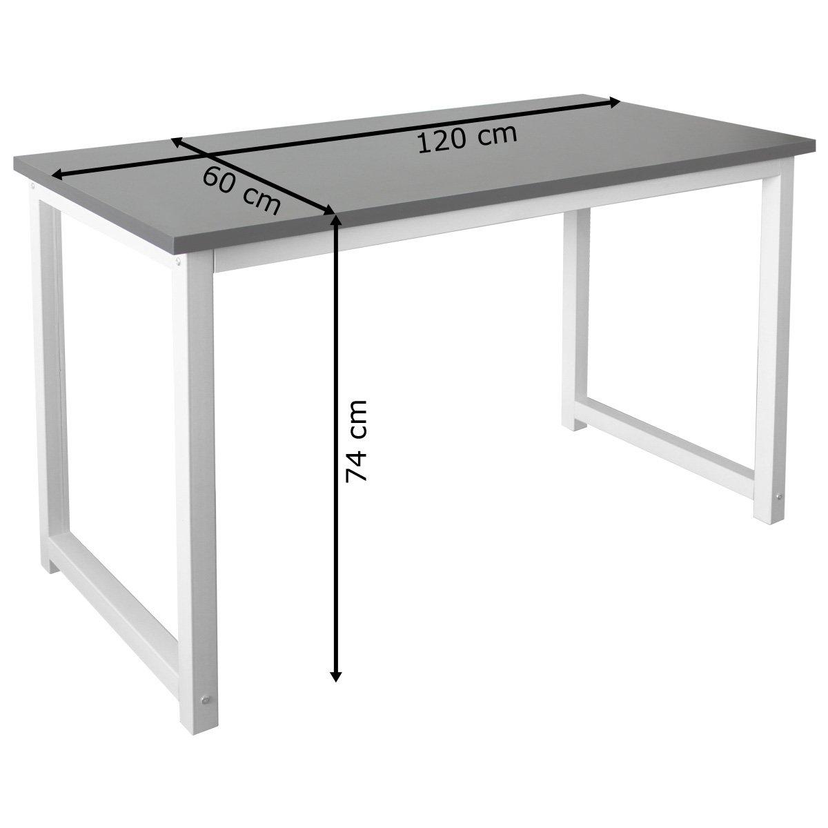Mesa Ordenador para PC Computer Escritorio Casa Oficina Puesto de ...