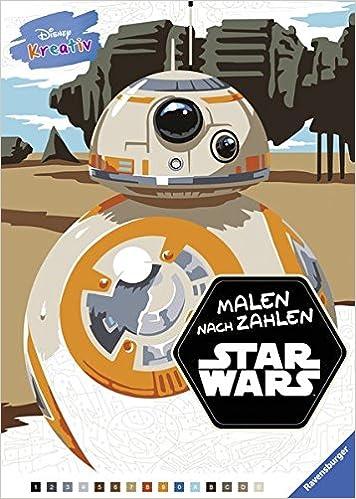 Disney Kreativ Star Wars Malen Nach Zahlen Amazon De The