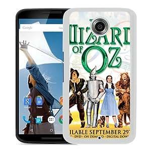 Popular Google Nexus 6 Case, Beautiful Designed Case With The Wizard of Oz White Google Nexus 6 Cover