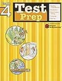 Test Prep: Grade 4 (Flash Kids Harcourt Family Learning)