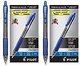 Pilot G2 Retractable Premium Gel Ink Roller Ball Pens Bold Pt (1.) 2 Dozen Box Blue ; Retractable, Refillable & Premium Comfort Grip. (2 Dozen Box)