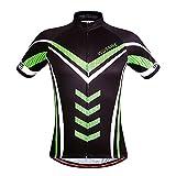 xxl mens cycling jersey - WOSAWE Mens Breathable Cycling Jersey (Hulk, XXL)