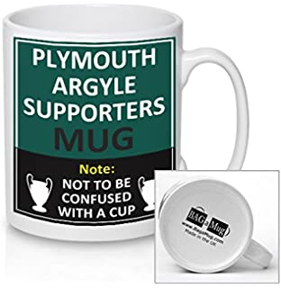 PLYMOUTH ARGYLE Football Supporters Rival Team Joke Funny New And Easy Office Tea Coffee Mug