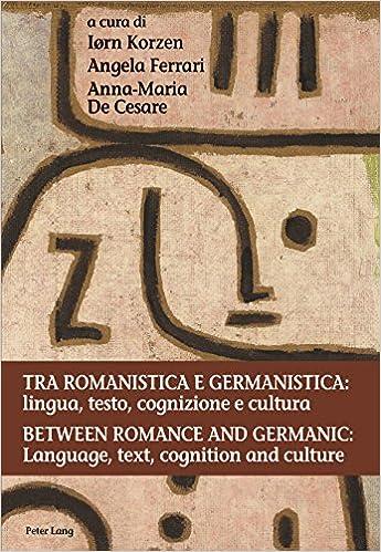 Amazon.com: Tra romanistica e germanistica: lingua, testo ...
