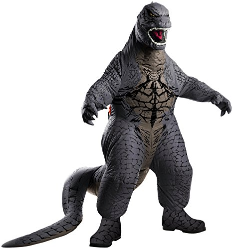 Rubies Godzilla Deluxe Inflatable Child Costume, Child Standard/Medium (Inflatable Halloween Costume)
