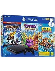 PS4 1 To Crash Team Racing + Spyro + RC Hits - noire