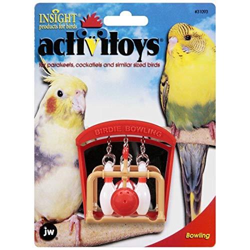 JW Pet Company Activitoys Birdie Bowling Bird -