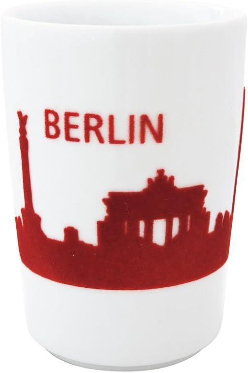 Berlin skyline Red Color KAHLA Touch Five Senses 1 Piece Large Cup 11-3//4 oz