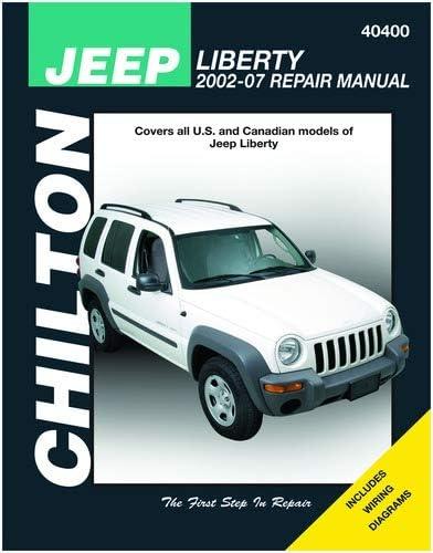 wiring diagram 2012 liberty amazon com chilton 40400 jeep liberty repair manual 2002 2012  amazon com chilton 40400 jeep liberty