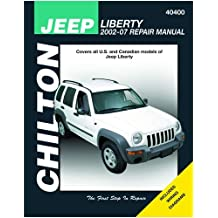 Chilton 40400 Jeep Liberty Repair Manual 2002-2012