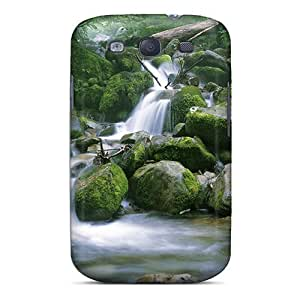 For Galaxy S3 Protector Case Waterfall Phone Cover