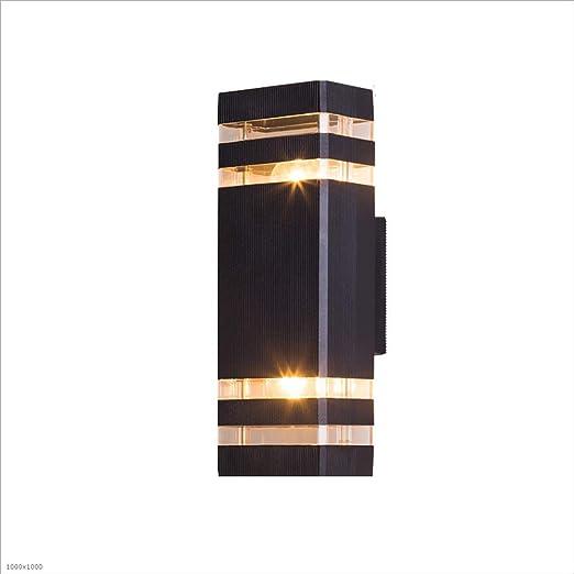 KMYX Lámpara de Pared Exterior Aluminio Exterior a Prueba de Agua ...
