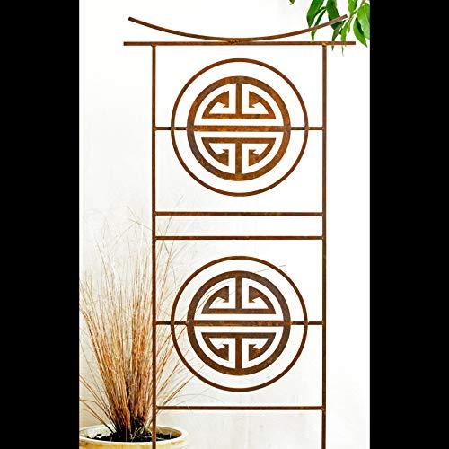 Garden Art Sculpture Tibetan Garden Panel Screen Home and Garden Décor Yard Art Decorative Sculptures