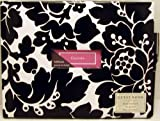 Hallmark Memory Keeping EDY1151 Black and White Floral Guest Book with Pen