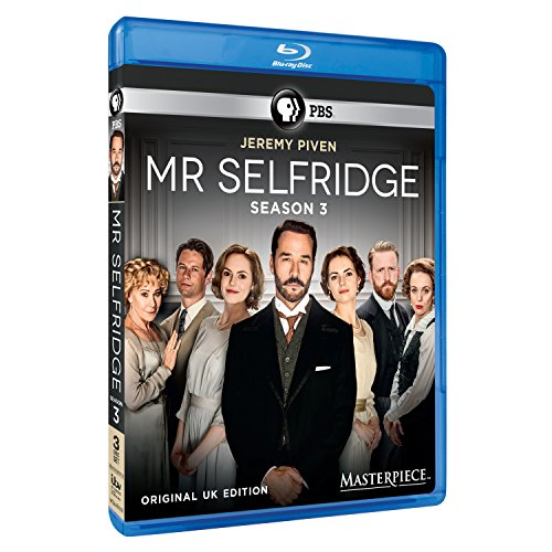 Masterpiece: Mr. Selfridge - Season 3 [Blu-ray]
