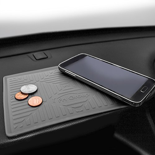 FH GROUP FH3011 Silicone Anti-Slip Car Dash Sticky Grip Pad for Cell Phone, Keychains, Sun Glasses - - Dash Sunglasses