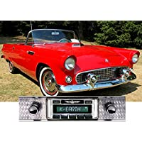 1955-1957 Ford Thunderbird USA-630 II High Power 300 watt AM FM Car Stereo/Radio with iPod Docking Cable