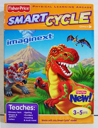 Fisher-Price SMART CYCLE Software- IMAGINEXT - Dinosaurs Cycle Smart