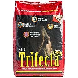 Horse Guard Trifecta Equine Vitamin Mineral Joint Hoof & Probiotic Supplement, 40 lb